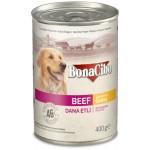 Bonacibo Soslu Dana Etli Yaş Yetişkin Köpek Maması 400 gr.