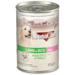 Bonacibo Ezme Kuzu Etli Pirinçli Yaş Yavru Köpek Maması 395gr