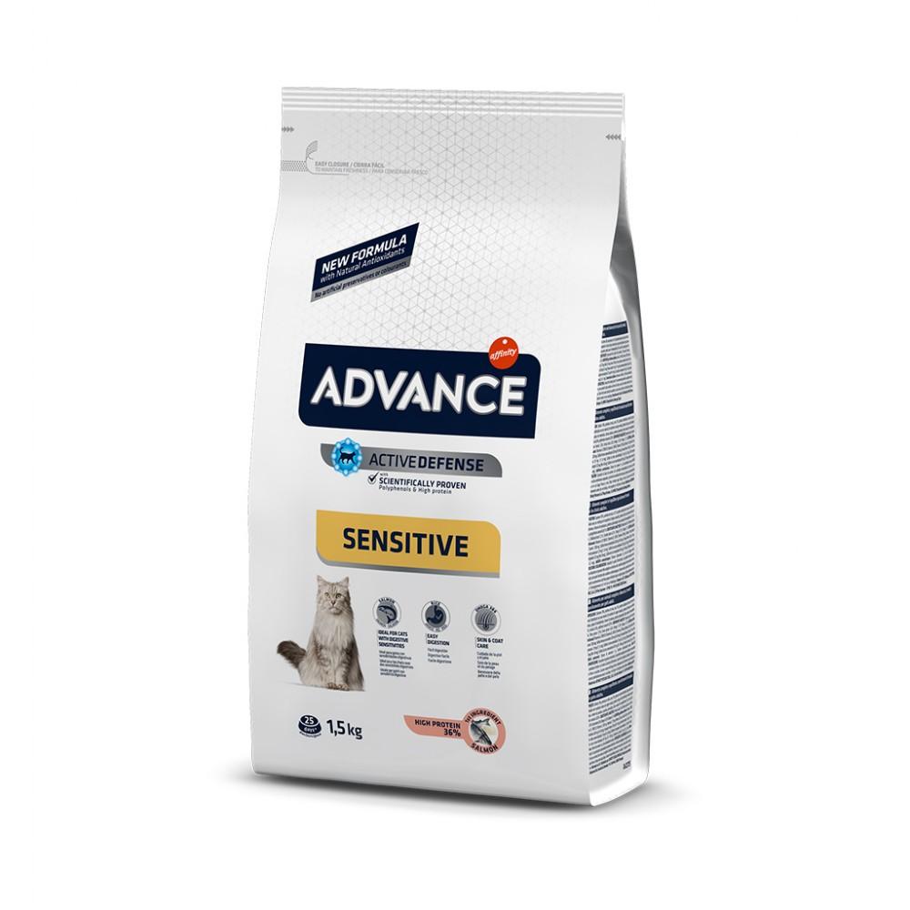 ADVANCE CAT ADULT SALMON SENSITIVE 1.5 KG